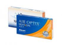 Air Optix Night & Day Aqua (3 lenti)